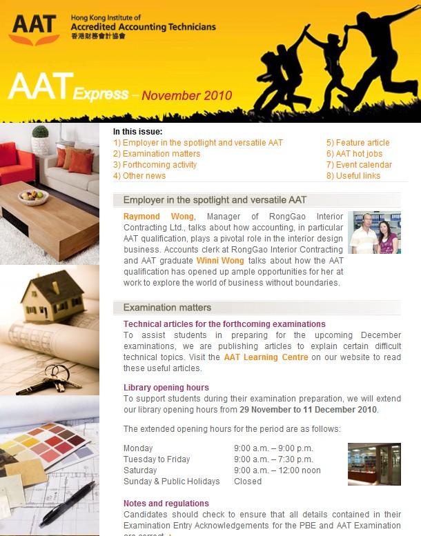 AAT Express November 10
